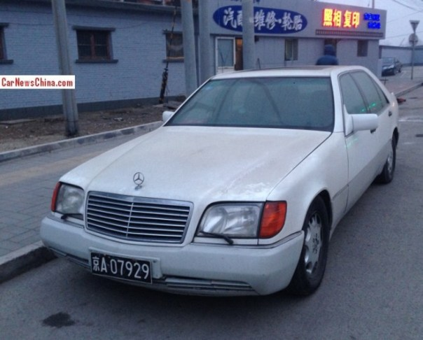 Spotted in China: W140 Mercedes-Benz S500 L