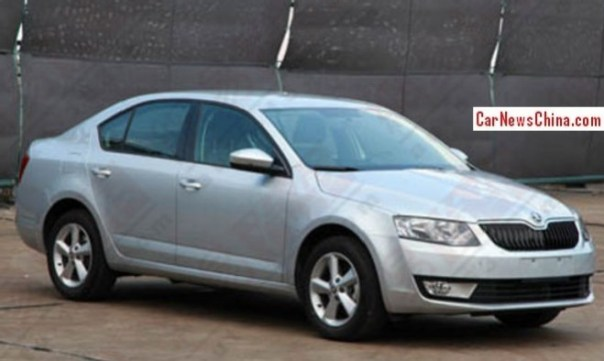 New Skoda Octavia is Ready for the China car market