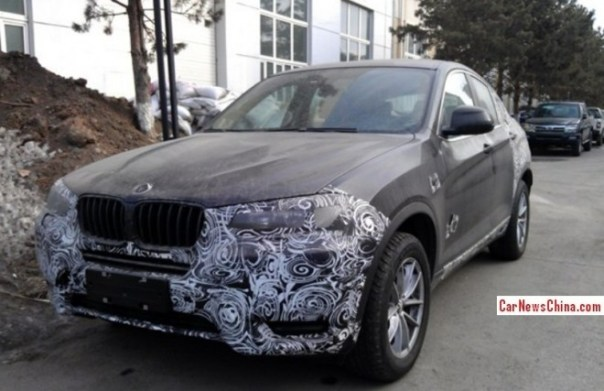 Spy Shots: BMW X4 testing in China