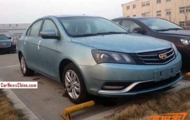 Spy Shots: facelifted Geely Emgrand EC7 is Naked in China