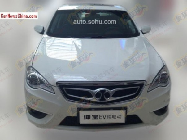 Spy Shots: Beijing Auto D70 EV is Ready for the China car market