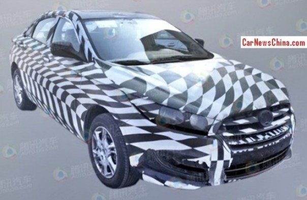 Spy Shots: new Besturn B50 testing in China