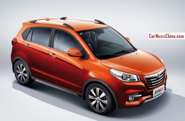 Official photos of the Weichai Auto Yingzhi G3