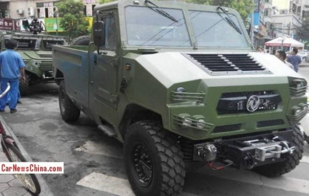 New variant of the Dongfeng EQ2050 for the Chinese army