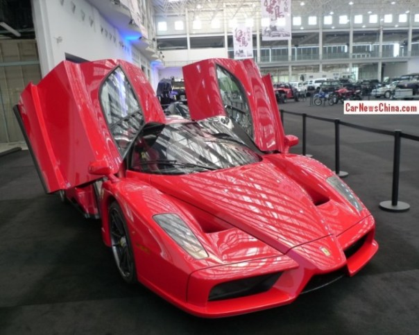 China Super Car Super Spot: Ferrari Enzo