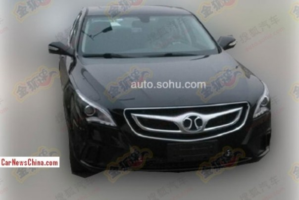 Spy Shots: Beijing Auto Senova D60 is getting Ready for the China car market