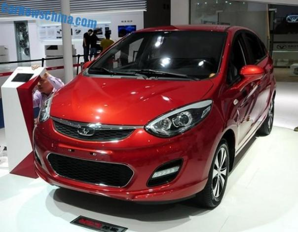 Cowin Auto C3R & C3 debut in China on the Chengdu Auto Show
