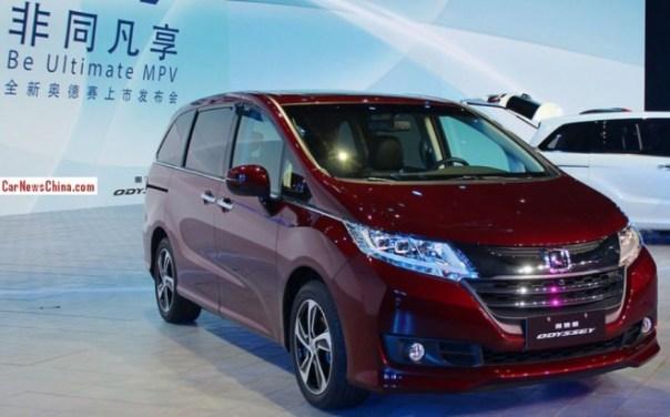 New Honda Odyssey hits the Chinese auto market