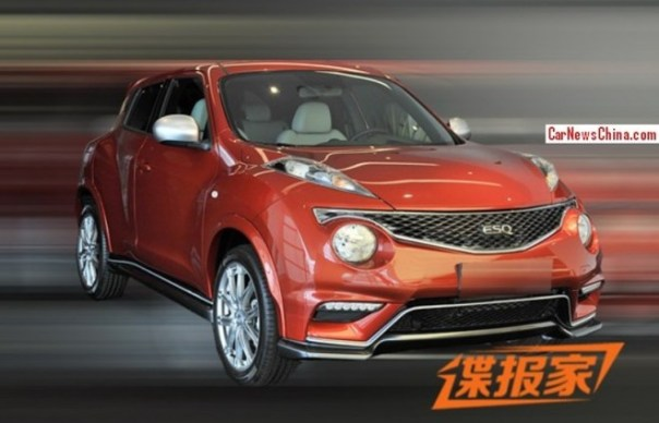 Spy Shots: Infiniti ESQ is Naked in China