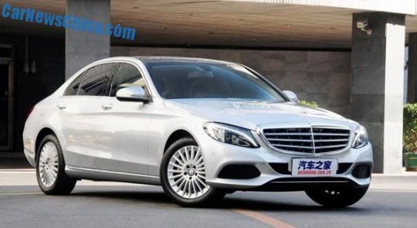 Mercedes-Benz C-Class L hits the Chinese auto market