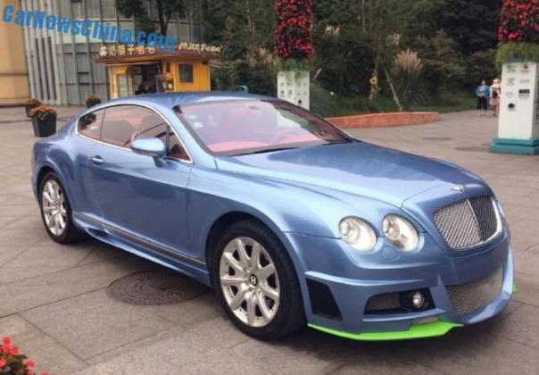 Spotted in China: Bentley Continental GT Wald Black Bison Edition