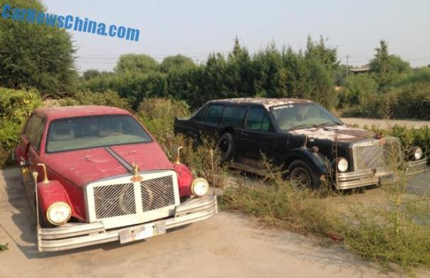 The completely crazy Jianhua JH6620 24V3000 Wedding Car of China