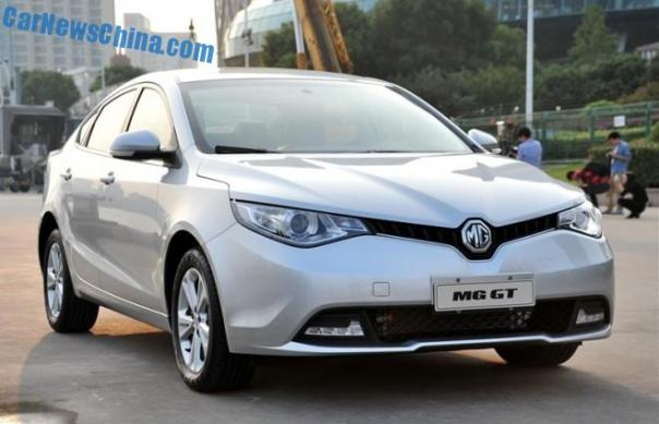MG GT is Ready for the Chinese car market