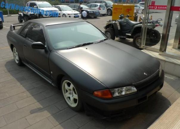 Spotted in China: Nissan R32 Skyline GT-R V-spec II