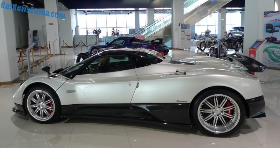 China Super Car Super Spot Pagani Zonda F Carnewschina Com