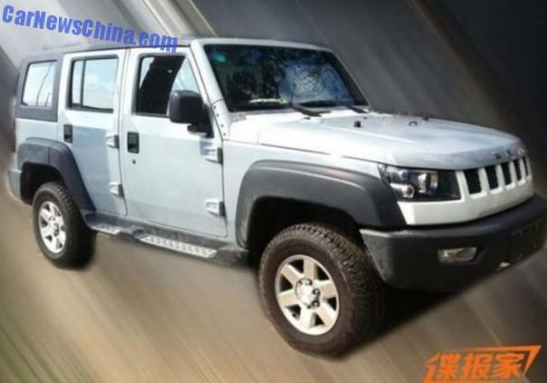 Spy Shots: Beijing AUto B70 SUV seen testing in China