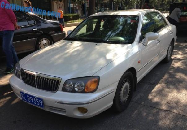 Spotted in China: Hyundai XG30