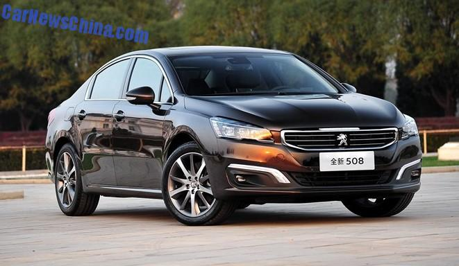new car launches in january 2014New Peugeot 508 will be launched in China in January 2015