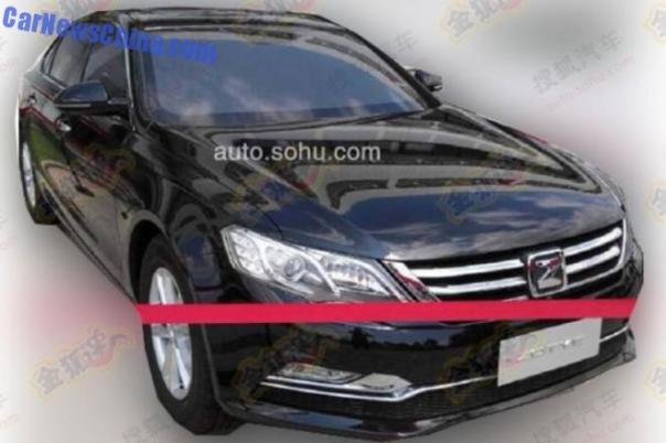 Spy Shots: Zotye Z600 sedan is Naked in China