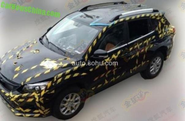 Spy Shots: BYD S3 SUV seen testing in China