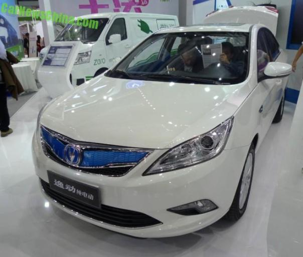 Changan Eado EV will launch in China in January 2015