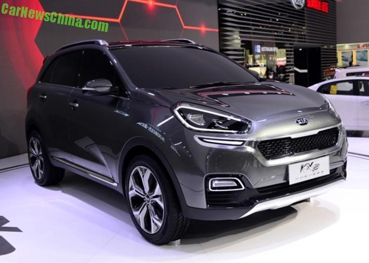 Kia KX3 Archives  CarNewsChinacom  China Auto News