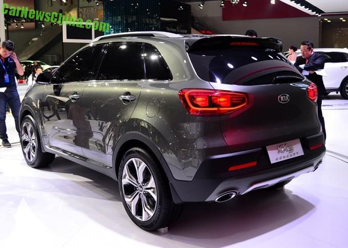 Kia KX3 will hit the Chinese car market in April 2015
