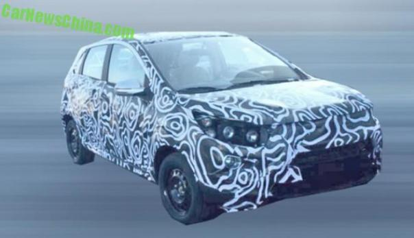 Spy Shots: Beijing Auto Senova X25 SUV testing in China