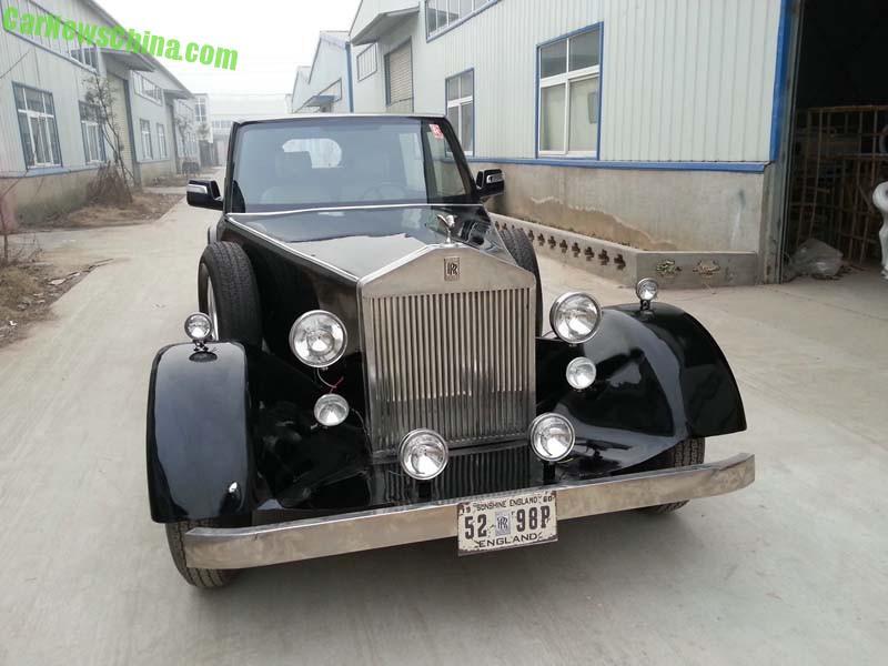 Introducing The Henan Ou Huang Electric Classic Car Carnewschina