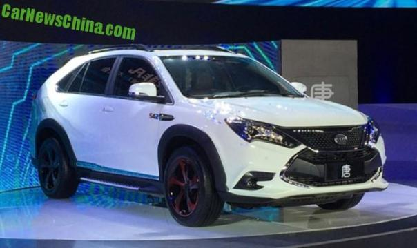 The new BYD Tang hybrid SUV from China has 505 hp!
