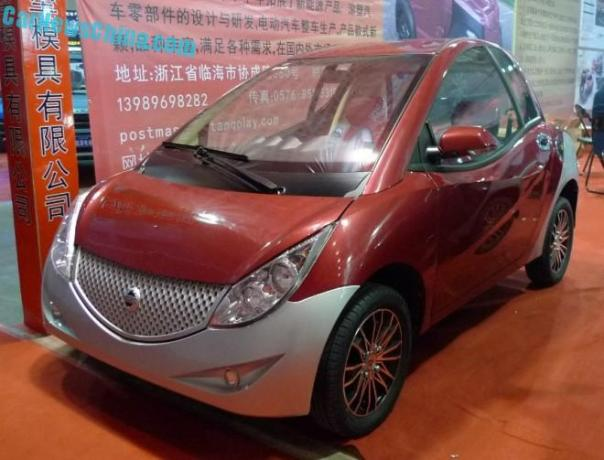 Shandong EV Expo in China: the Minglong Deluxe EV