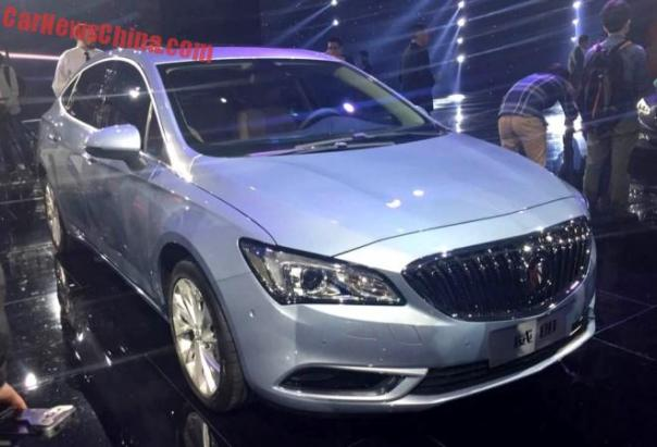 All-new 2016 Buick Verano debuts in Shanghai