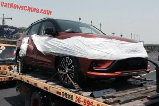 First Live Shots of the BYD Song SUV for the Shanghai Auto Show