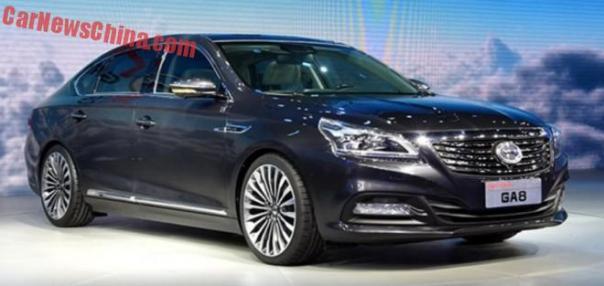 Guangzhou Auto Trumpchi GA8 concept debuts on the Shanghai Auto Show
