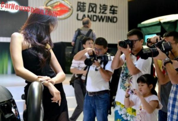 No Children allowed on the 2015 Shanghai Auto Show