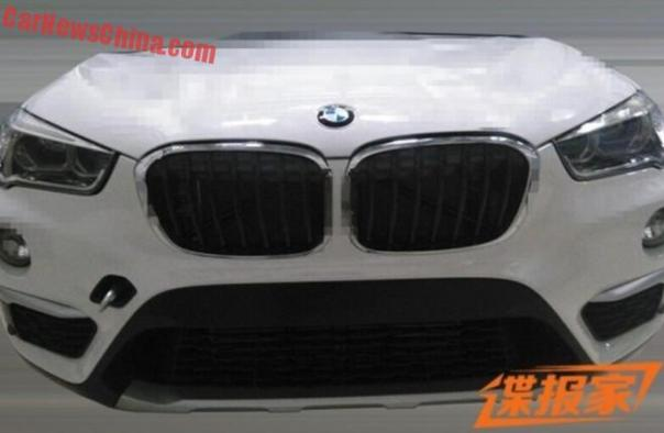2016 F48 BMW X1 is Naked in China