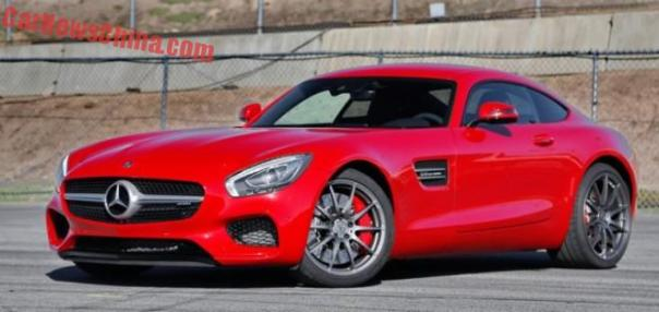 Mercedes-AMG GT S launched on the Chinese car market