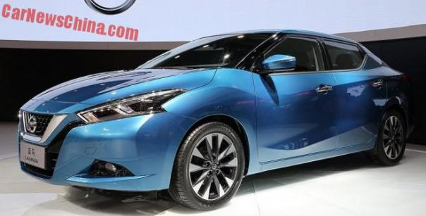 Nissan Lannia will launch in China in September