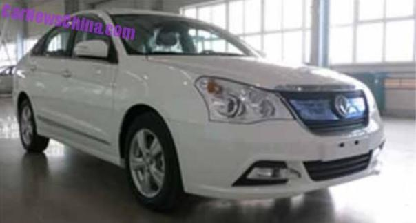 Spy Shots: Dongfeng Fengshen A60 EV for China