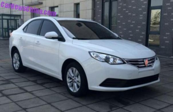 Spy Shots: Roewe 360 is Almost Ready for the Chinese car market