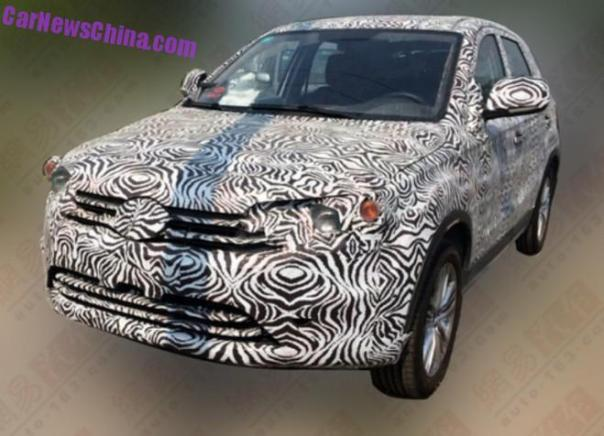 Spy Shots: FAW R20 SUV testing in China