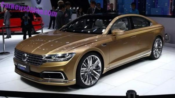 Volkswagen C Coupe GTE will launch in China in December