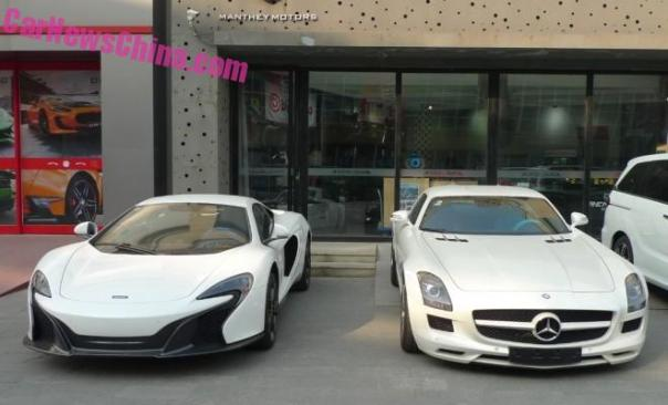 SuperCar China Double Spot: McLaren 650S & Mercedes-Benz SLS AMG