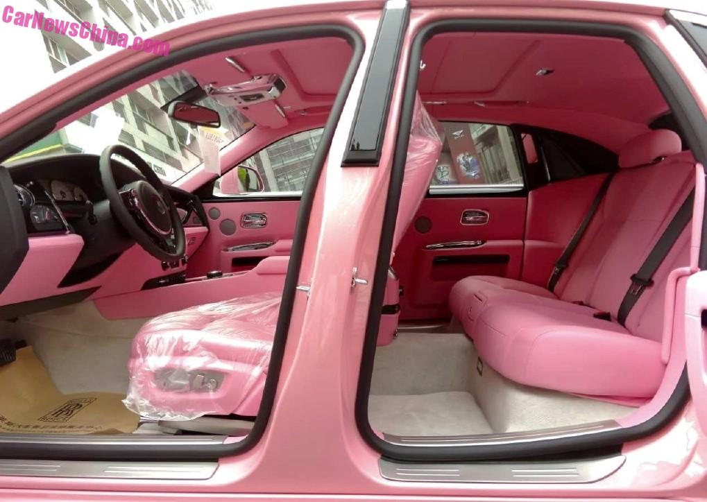 rolls royce ghost 2015 interior. a peek inside the pink rollsroyce ghost in china rolls royce 2015 interior i
