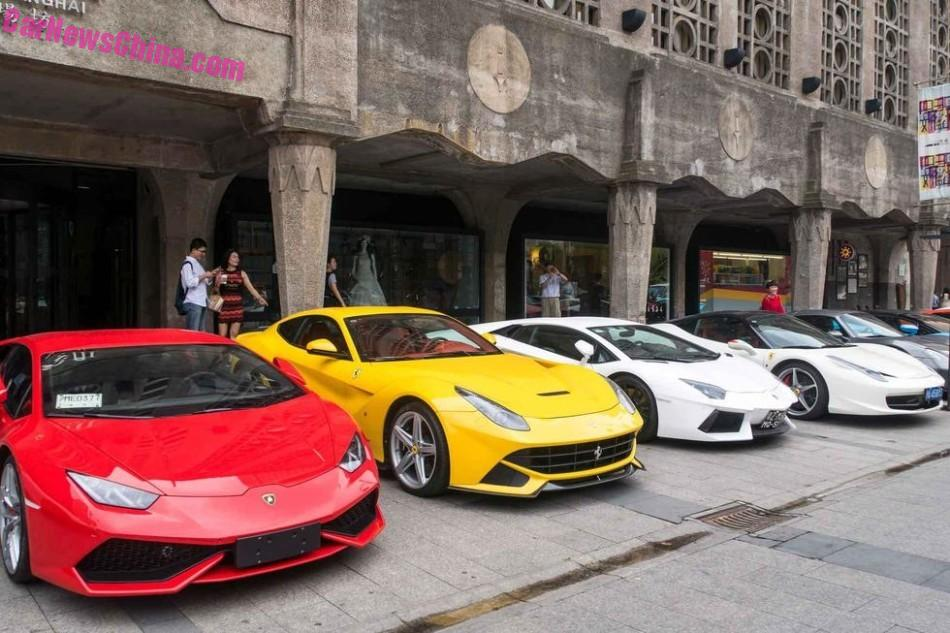 Supercars Meet In Shanghai China Carnewschina Com China Auto News