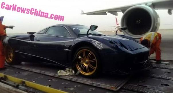 Pagani Huayra Dinastia arrives in China