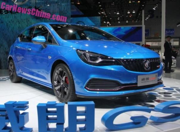 More Photos of the Buick Verano hatchback for China