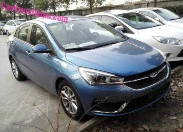 New Photos of the Chery Arrizo 5 sedan for China