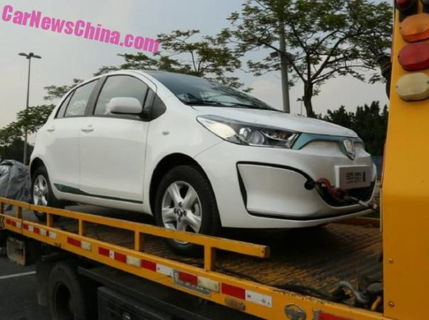 Guangzhou-Toyota Leahead i1 EV arrives at the Guangzhou Auto Show