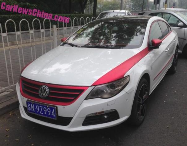 Volkswagen Passat CC is Partly Pink in China